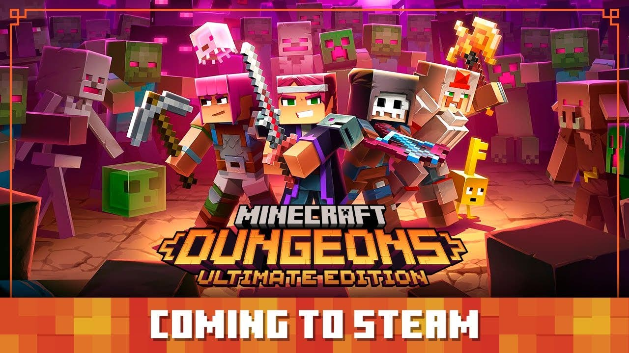 minecraft dungeons is coming to