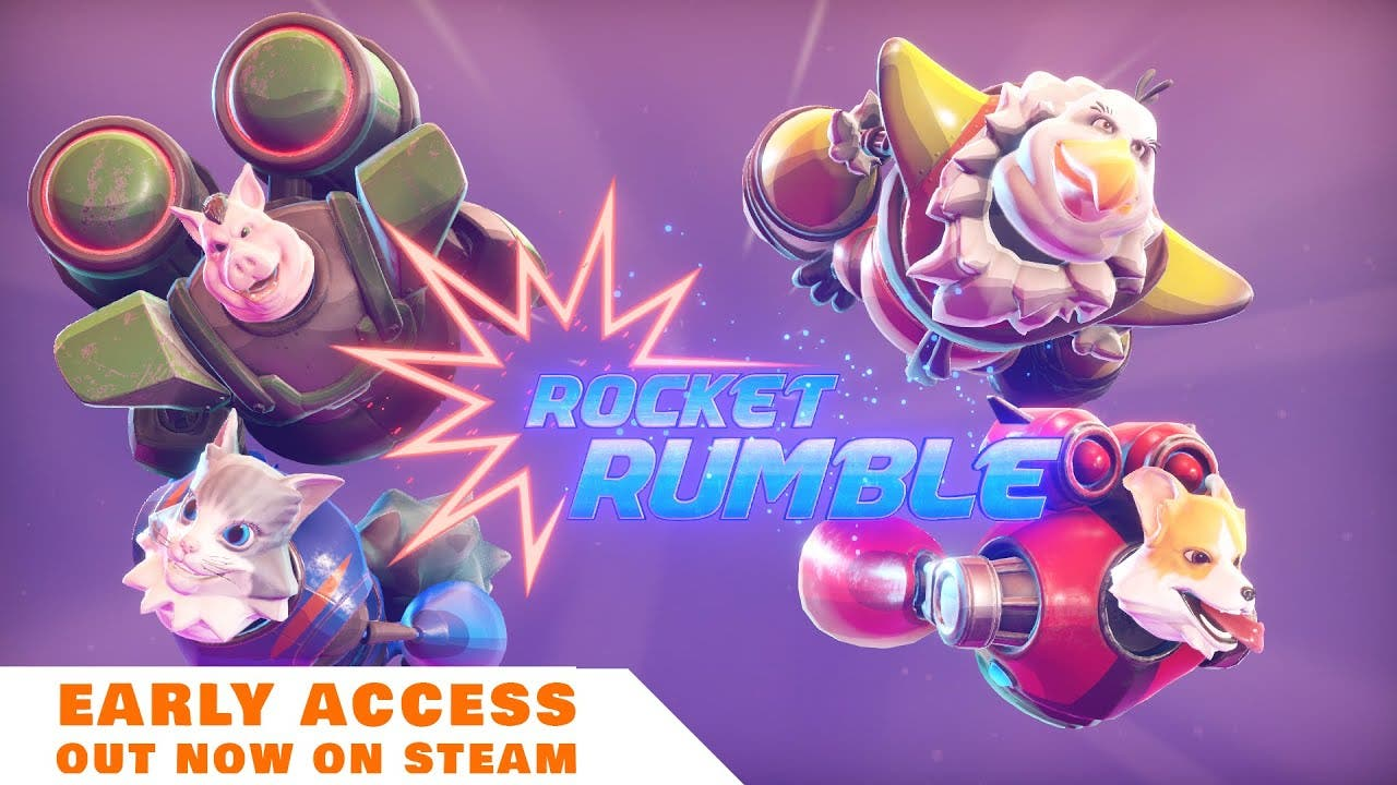 space racing brawler rocket rumb
