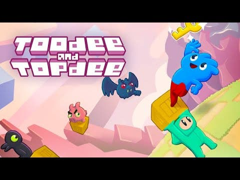 toodee and topdee 2d platformer