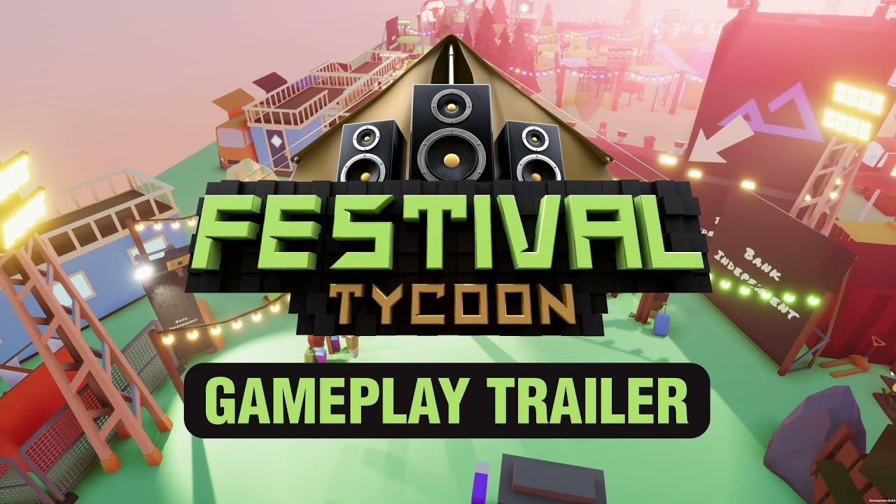 festival tycoon takes the stage