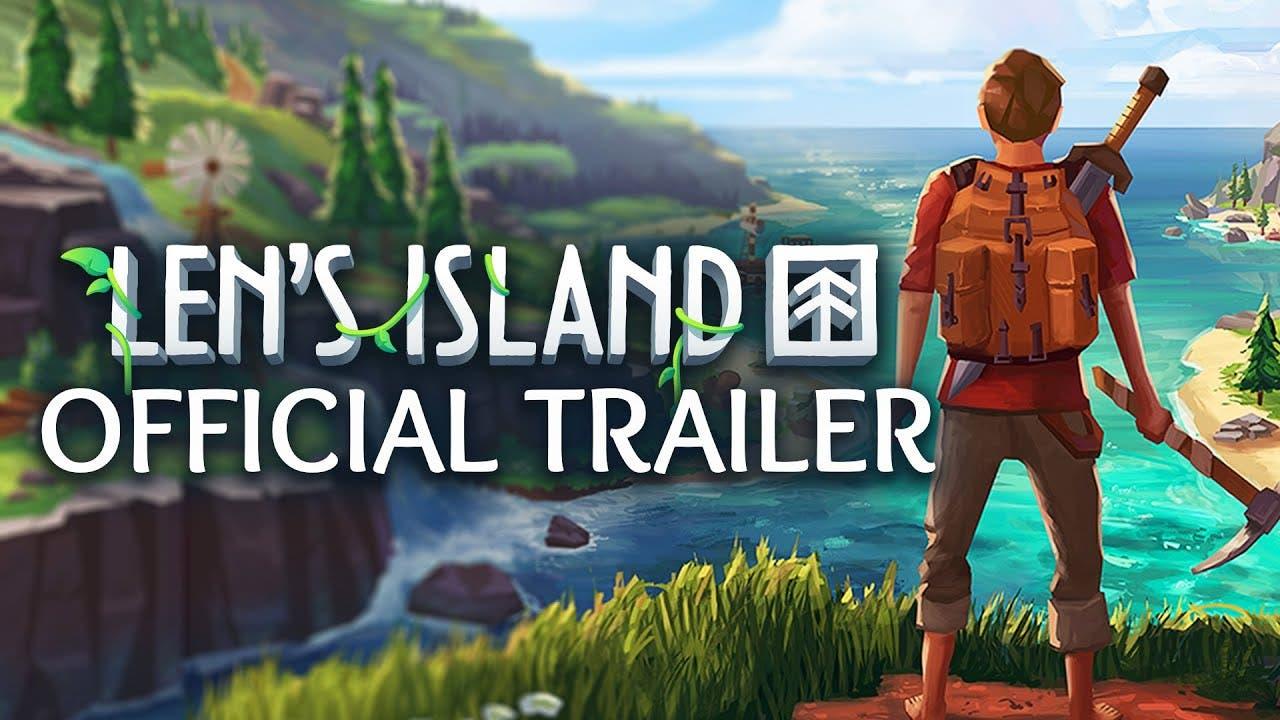 lens island is an island life si