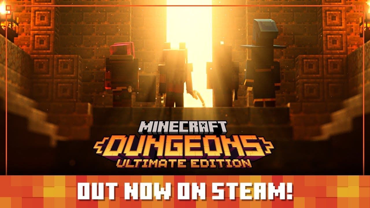 minecraft dungeons is available