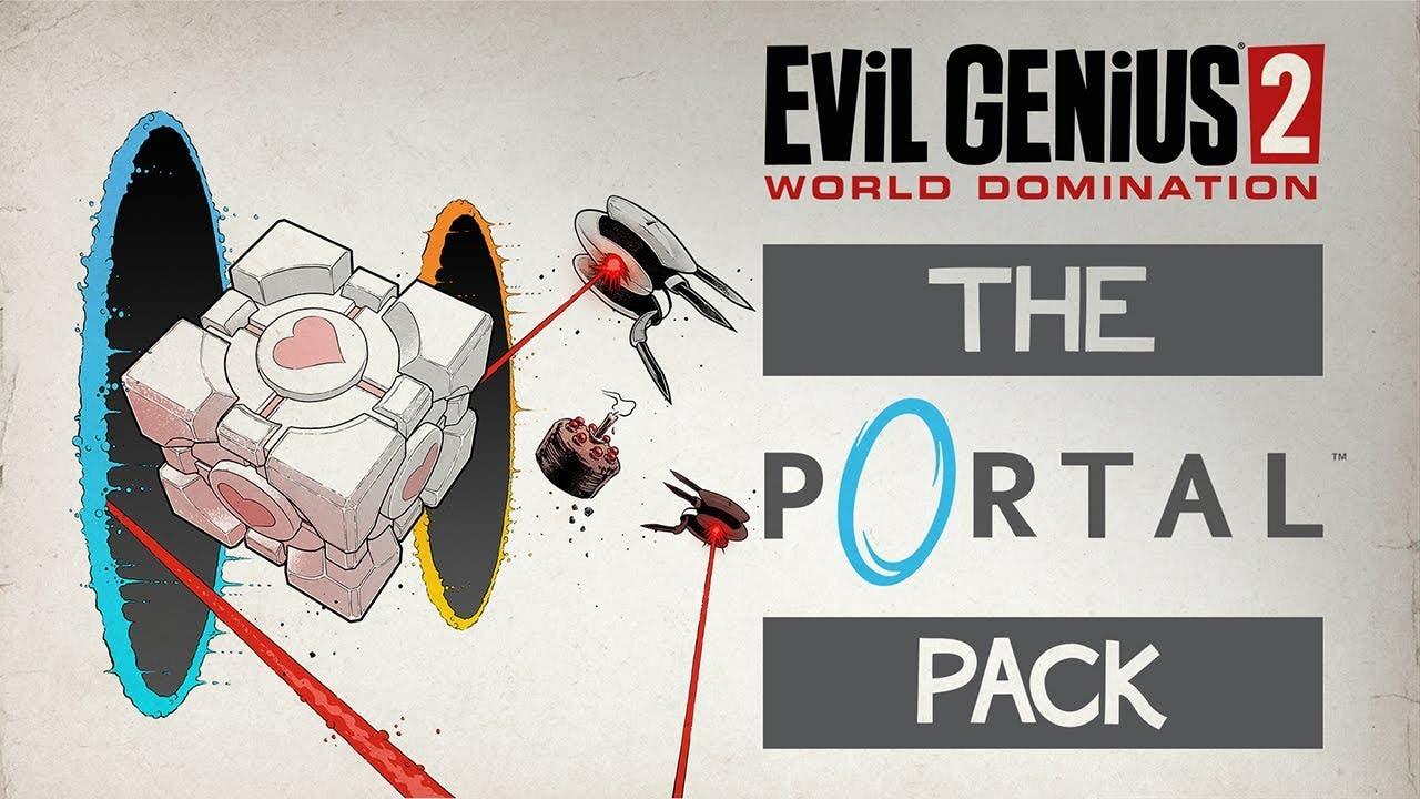 portal collides with evil genius