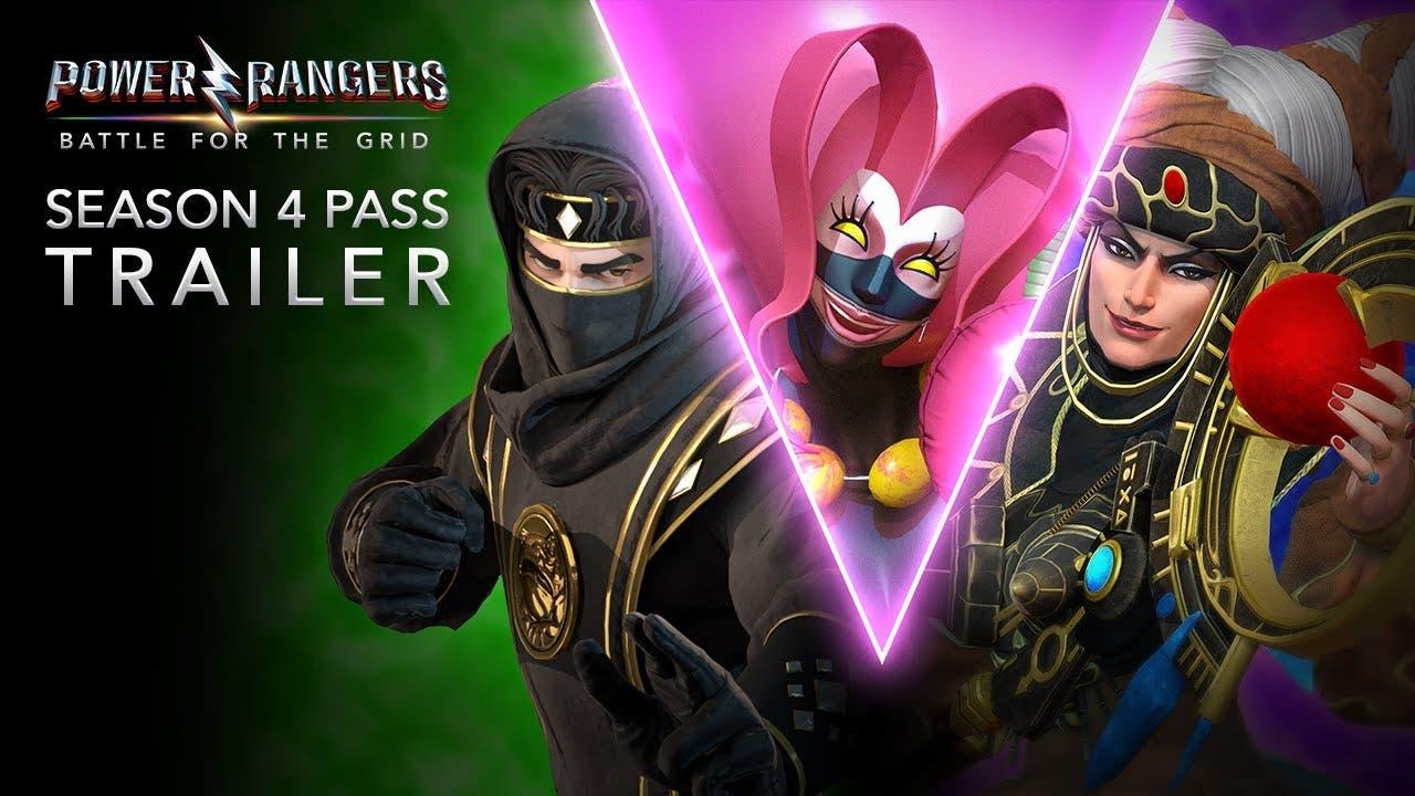 season 4 of power rangers battle