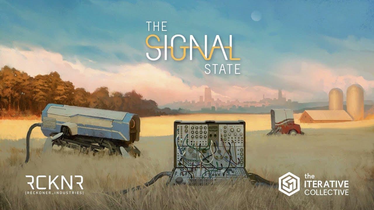 synthesizer puzzle and simulatio