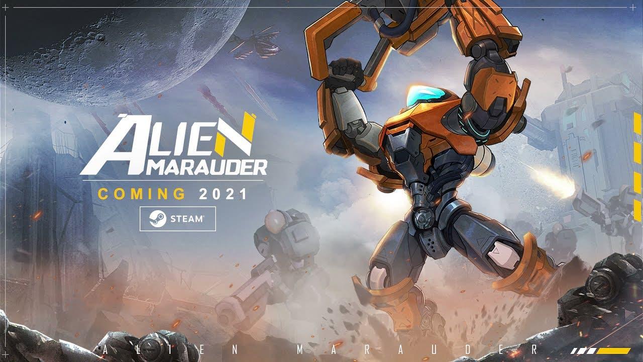 alien marauder begins open playt