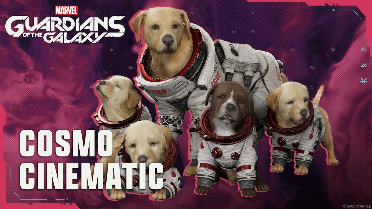 good boy cosmo the space dog and