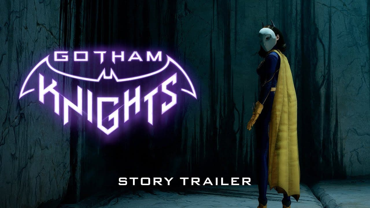gotham knights story trailer and