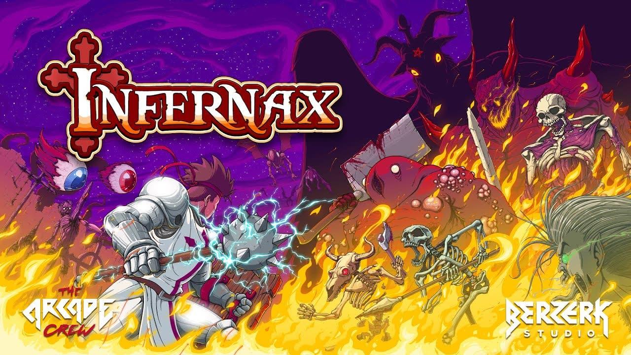 infernax is a side scrolling adv