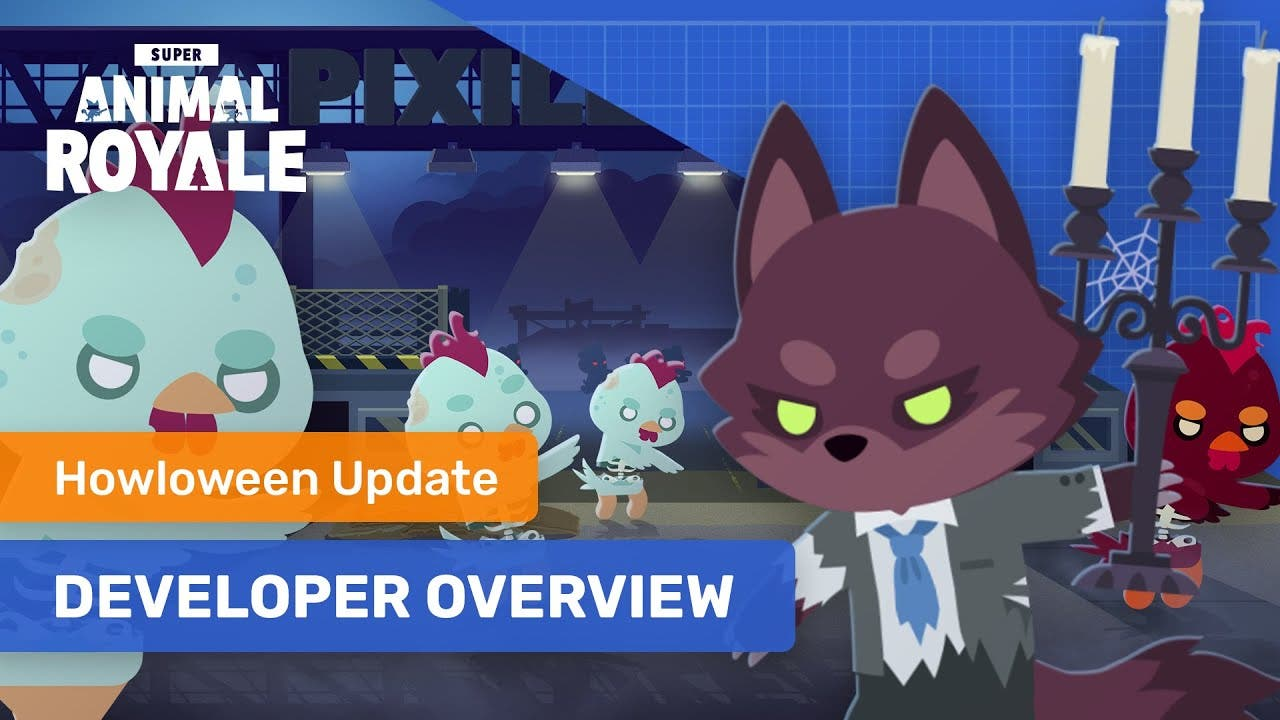 the howloween update for super a